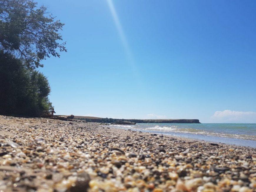 Пляж при селе
