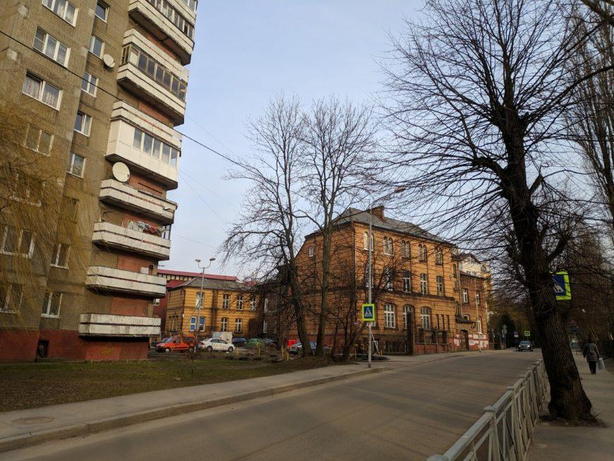 Одна из калининградских улиц