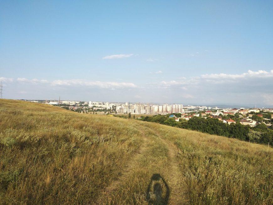 Вид на Симферополь