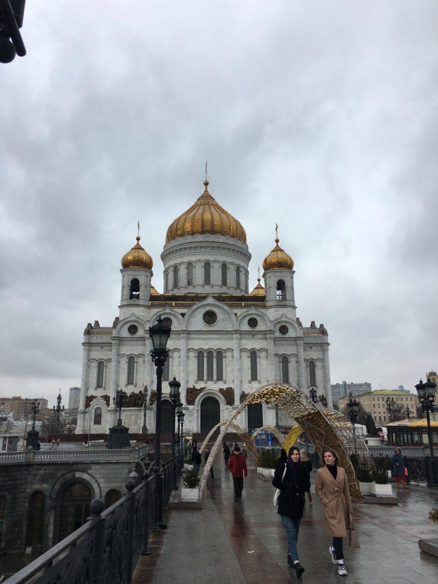 Главный храм столицы Христа Спасителя