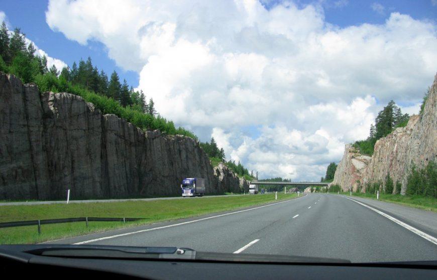 Трасса до Хельсинки