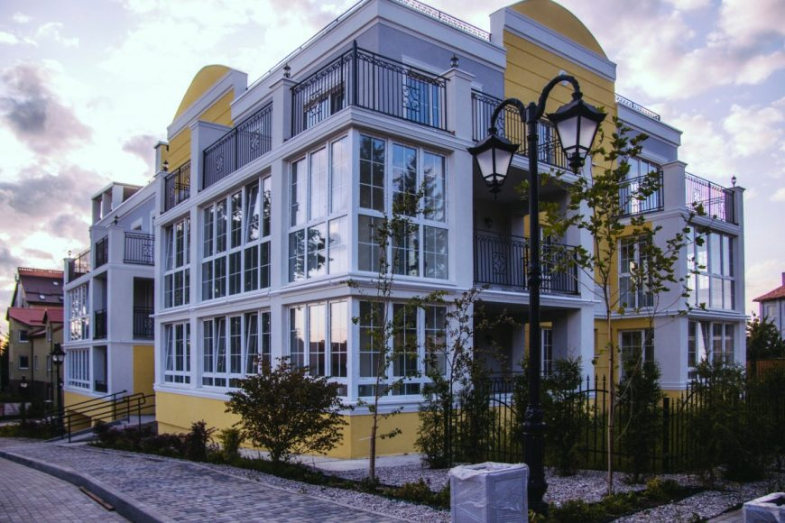 Пример дома в Янтарном