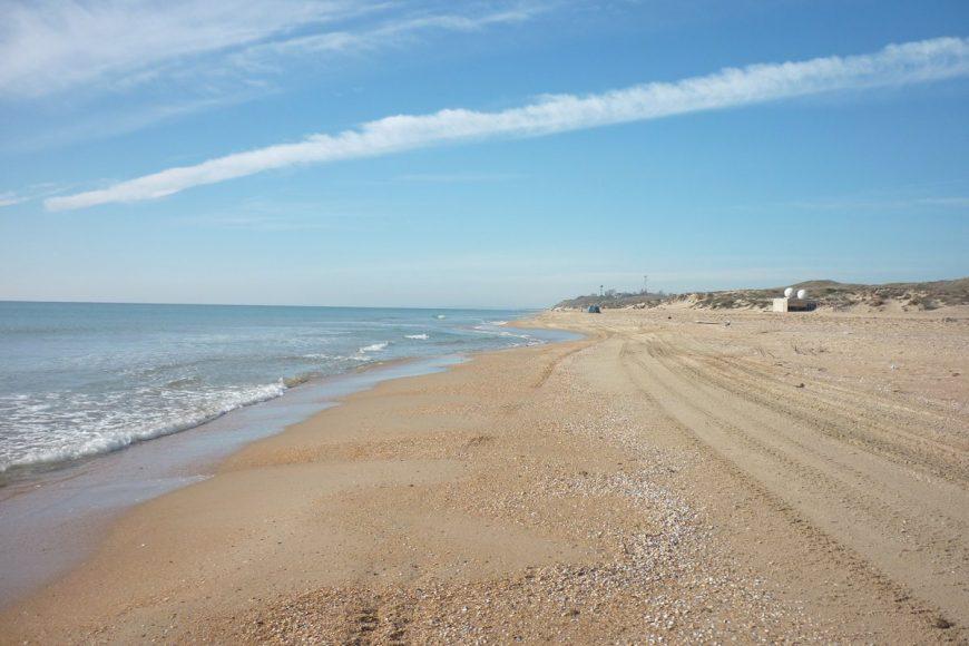 Море в Благовещенской в ноябре