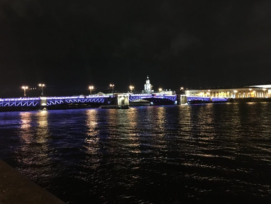 Разводные мосты Спб
