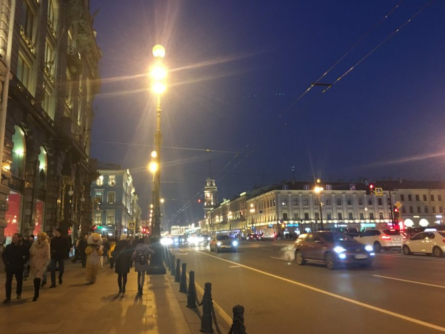 Санкт-Петербург и его центр