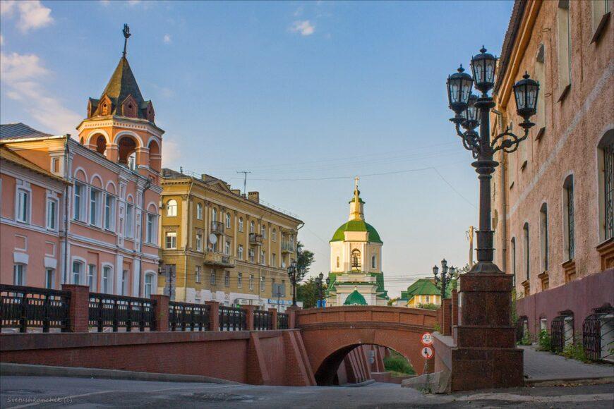 Каменный мост. Памятник архитектуры 19 века