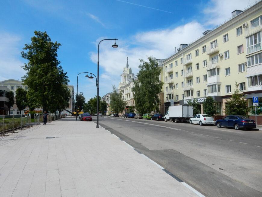 Советская площадь после реконструкции