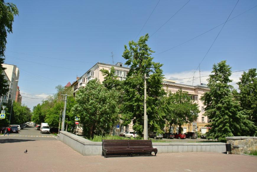 На улице Пушкина