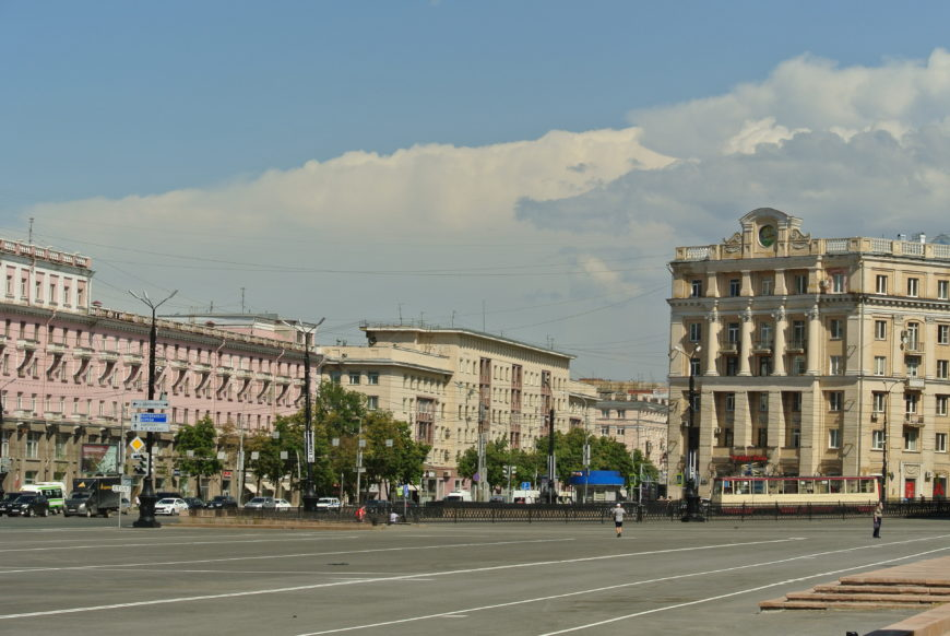 Вид на площади Революции