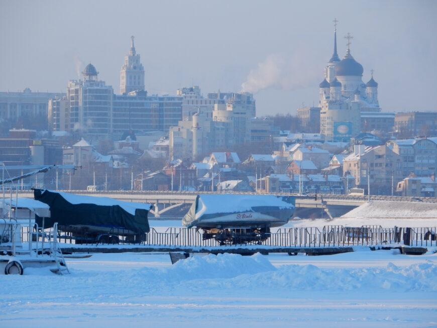 Воронеж в январе 2016 года