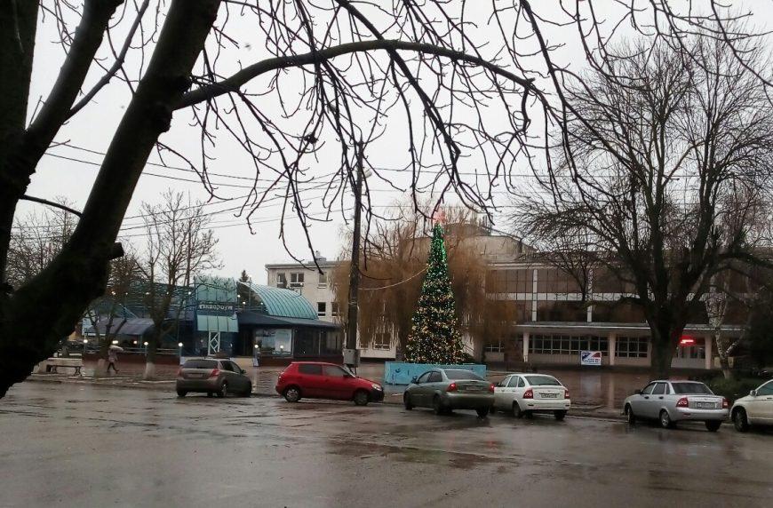 Январь в Приморско-Ахтарске