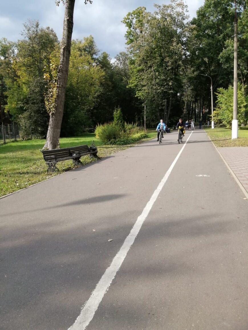 Территория Глуховского парка