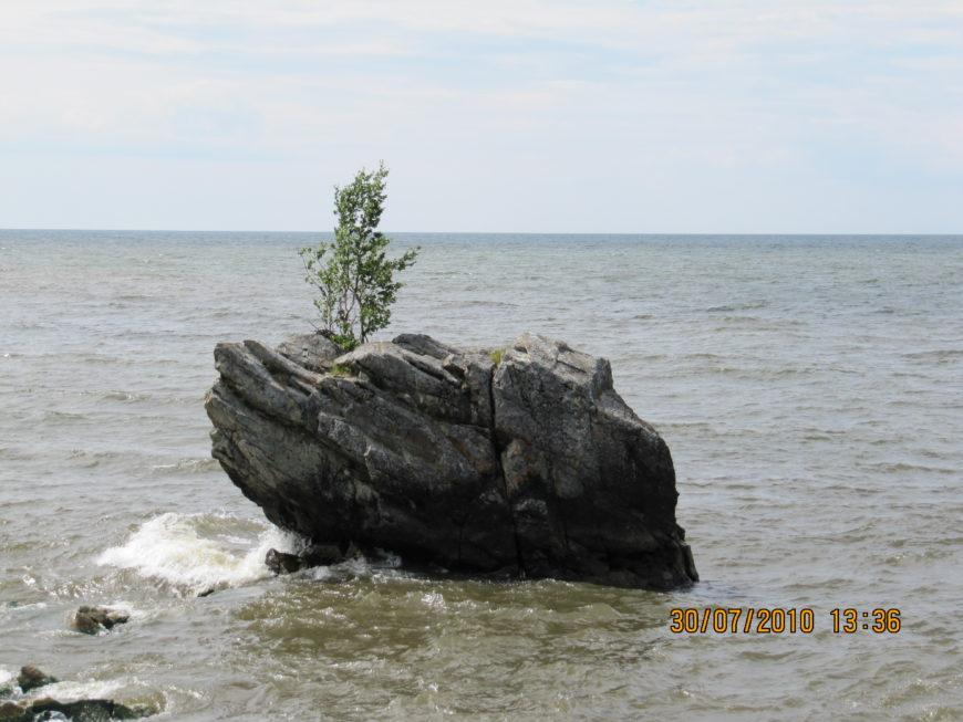Камень-Черепаха. Байкал