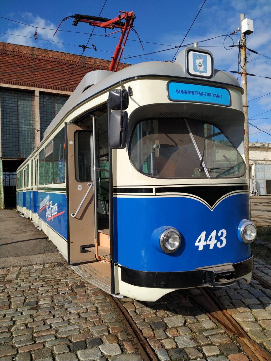 В Калининграде самая старая трамвайная система в России