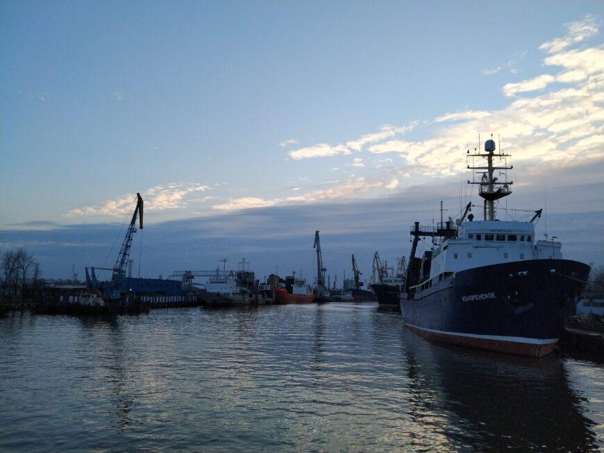 Морские профессии популярны в Калининграде