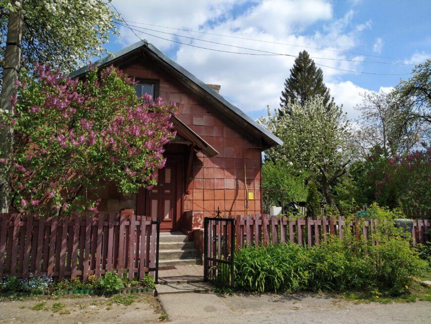 Частный дом в районе с сохранившейся немецкой застройкой