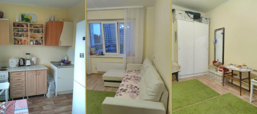Однокомнатная квартира в Новосибирске, где я жила раньше