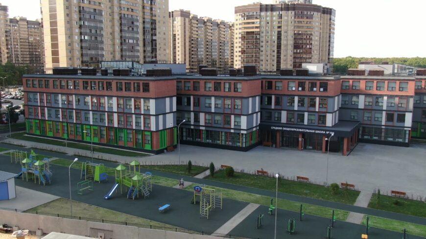 Одна из новых школ в Северном микрорайоне города