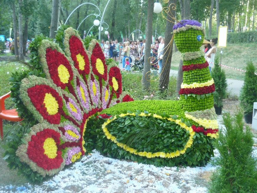 Выставка вЦентральном парке «Динамо»