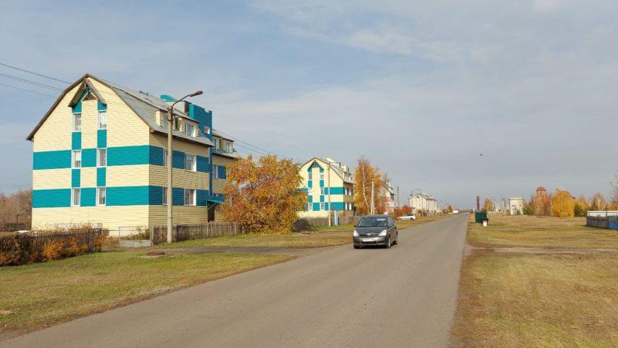 Посёлок на Алтае, в который я переехала около полутора лет назад