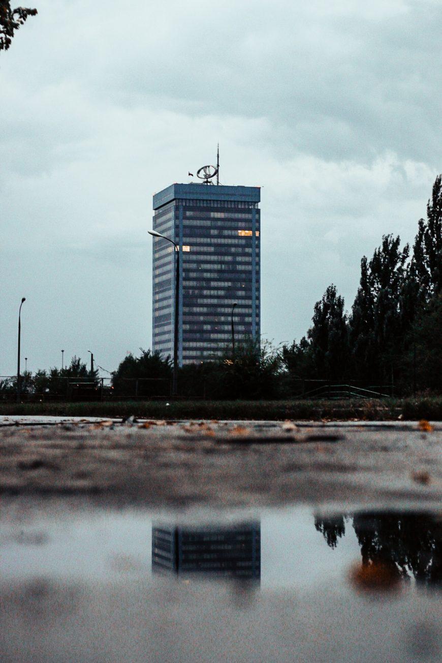 Тольятти. Автоваз после дождя