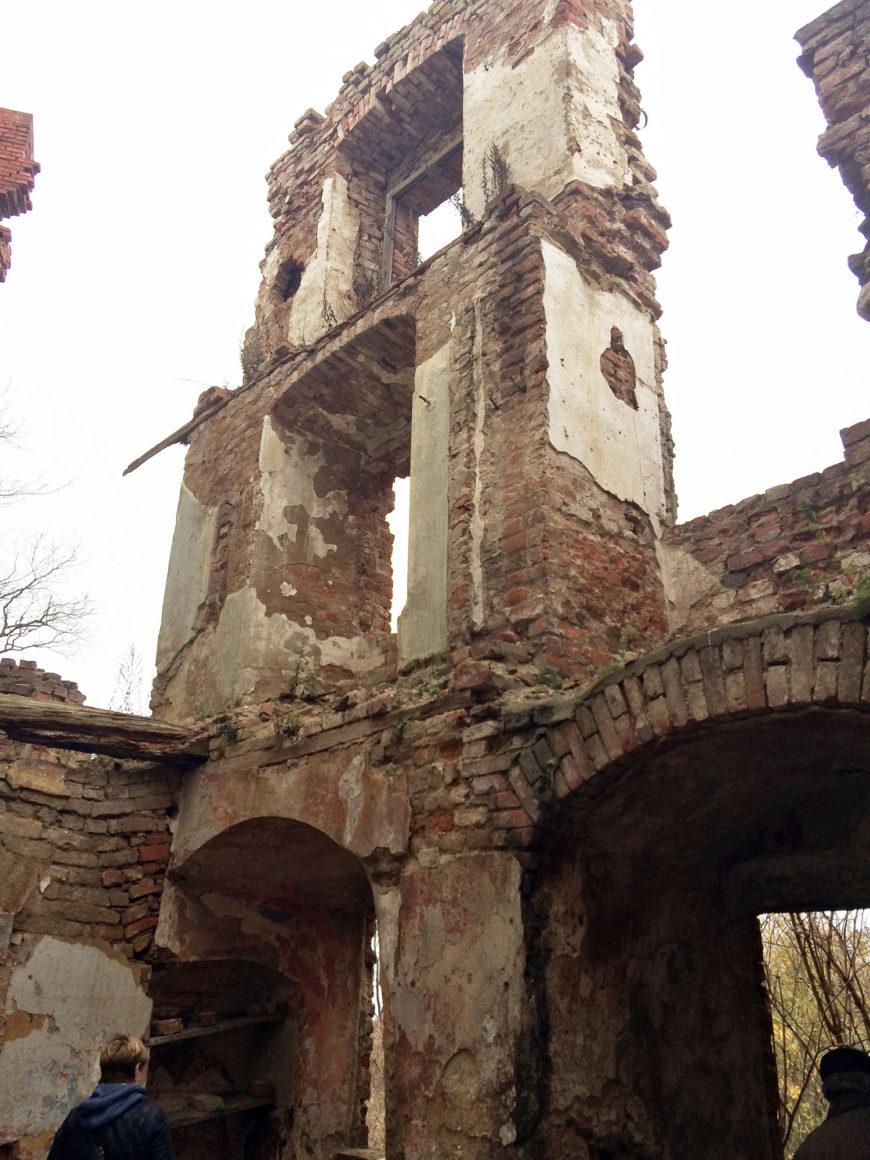 Руины замка Шаакен