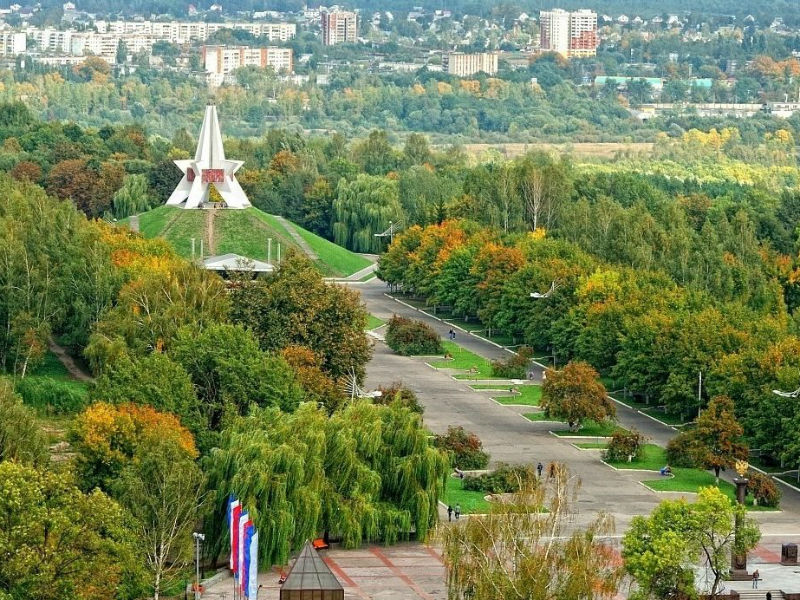 Зелёный красивый спокойный ...Брянск