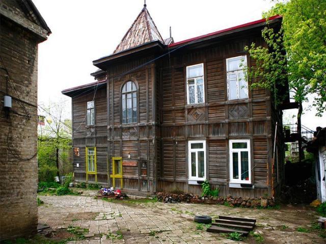 Жилые дома в центре Владивостока
