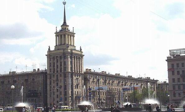 Санкт-Петербург. Московский район
