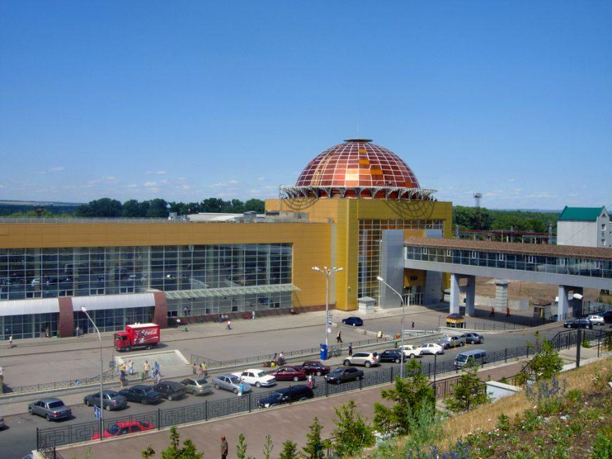 Вокзал в Уфе