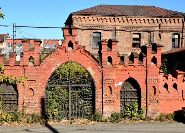 Остатки табачной фабрики