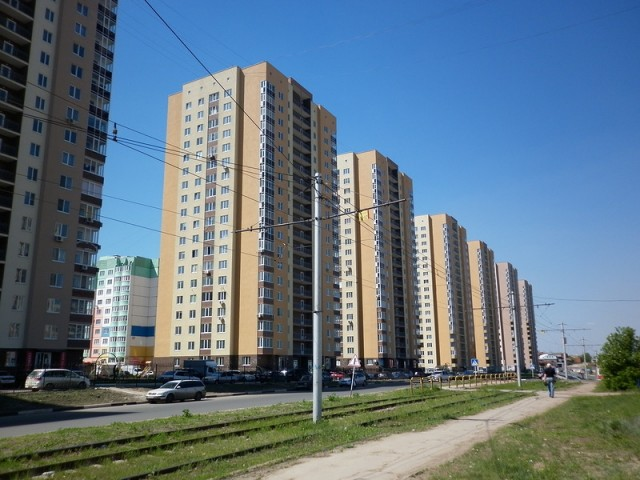 Новые высотки в Ленинском районе