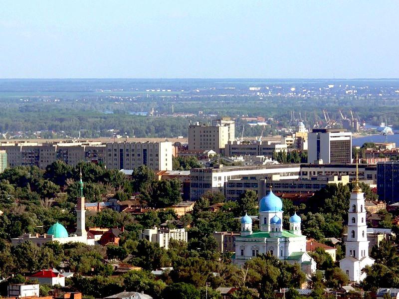 Город Саратов: климат, экология, районы, экономика ...