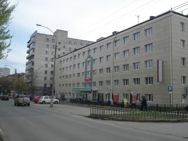 Екатеринбург. Втузгородок