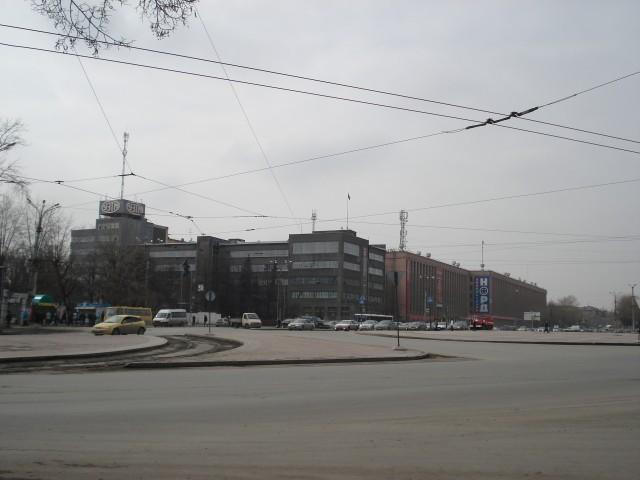 Екатеринбург. Площадь первой пятилетки