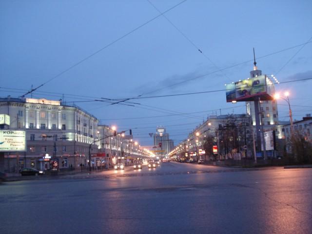 Вокзал. Ул. Свердлова