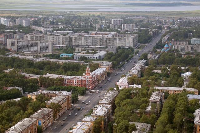 Центр Комсомольска