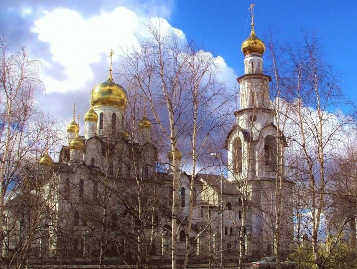 Сургут. Храм Преображения Господня