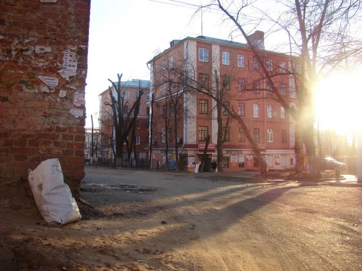 Один из дворов Ижевска