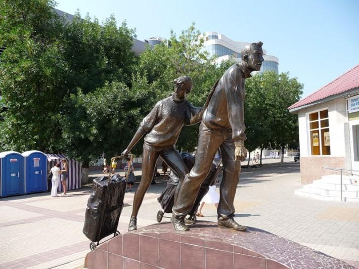 Белгород. Памятник челнокам