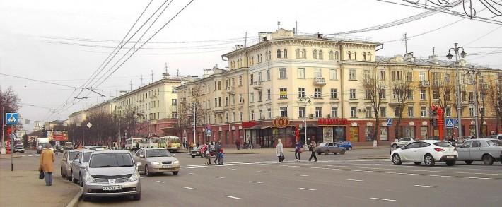 Перекрёсток проспекта Советского и ул. Кирова