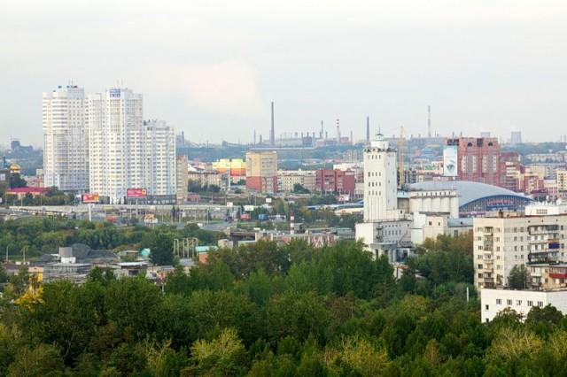 Общий вид Челябинска