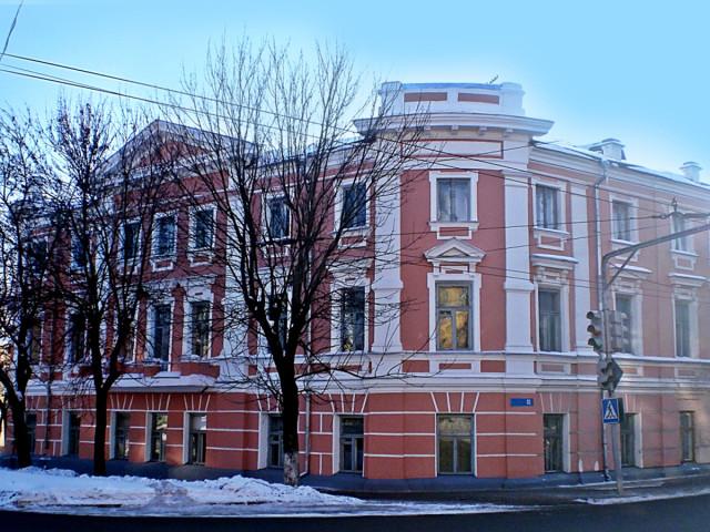 Здание Калужского государственного университета (бывшего педагогического) на ул. Ленина