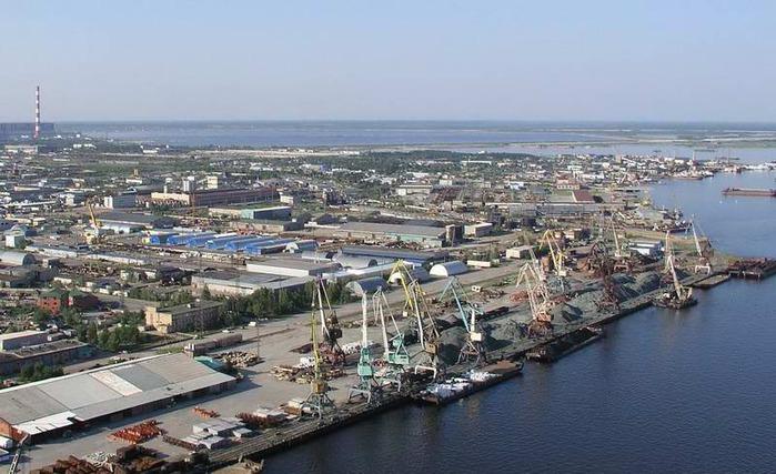 Сургут. Речной порт