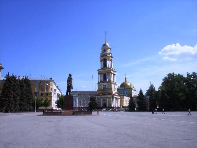 Соборная площадь (площадь Ленина)