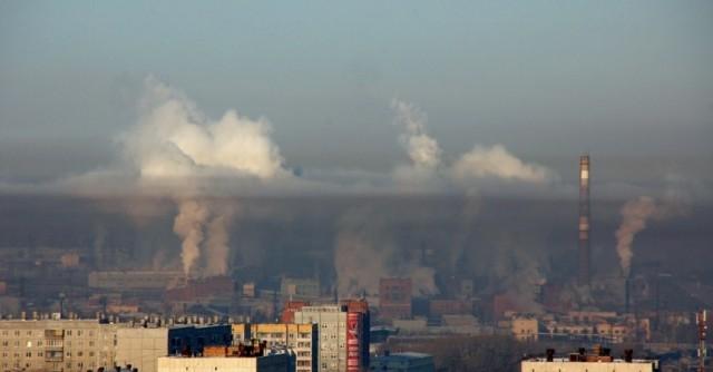 Дым над Челябинском
