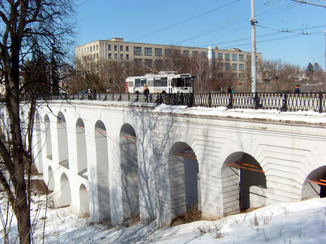 Каменный мост - памятник архитектуры XVIII века