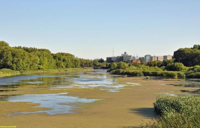 Река Миасс в Челябинске