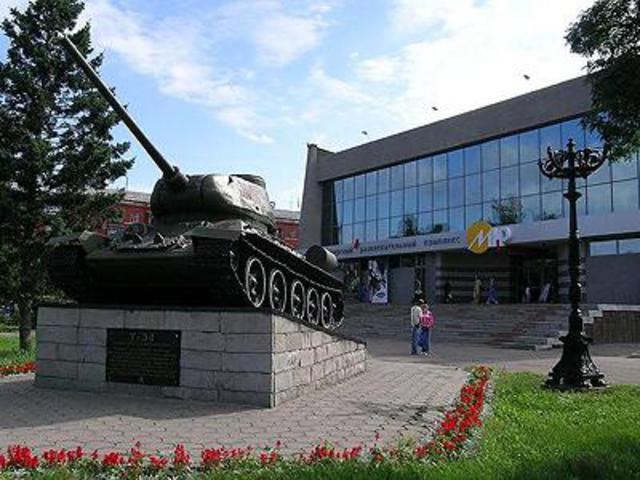 Кинотеатр Мир в Барнауле