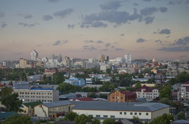 Барнаул. Общий вид